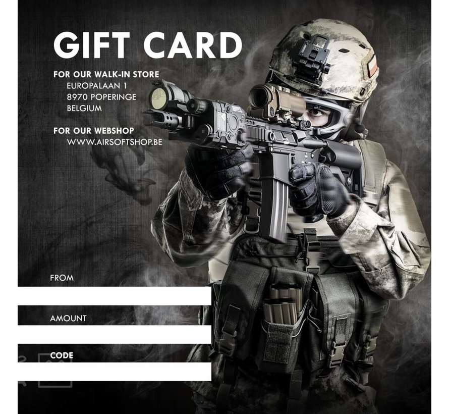 DIGITAL Gift Card (Mail PDF)