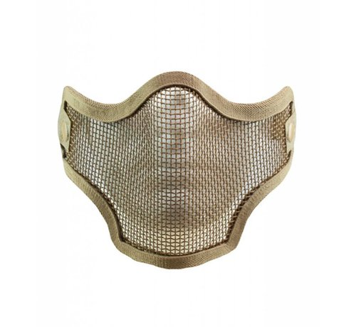 Valken 2G Wire Mesh Tactical Mask (Tan)