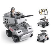 Sluban Armored Vehicle 3-in-1 M38-B0537B