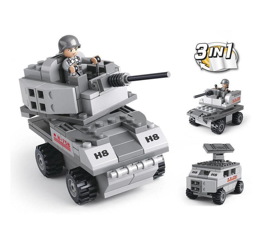 Armored Vehicle 3-in-1 M38-B0537B