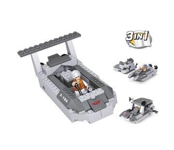 Sluban Landing Craft 3-in-1 M38-B0537D
