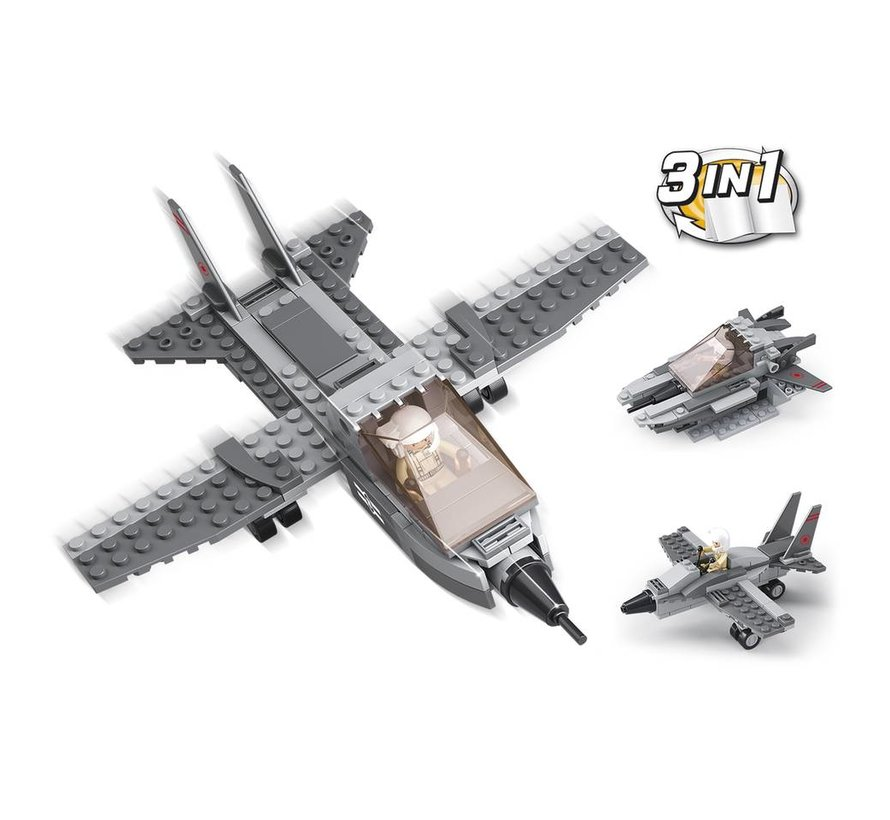 Fighter Jet 3-in-1 M38-B0537I