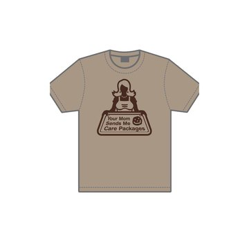 MIL-SPEC MONKEY Your Mom T-Shirt (Dusty Brown)