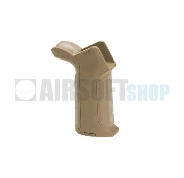 Ares Amoeba Beavertail Backstrap Grip (Tan)