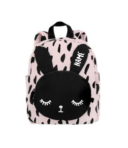 Van Pauline Toddler Backpack Bunny Pink with name