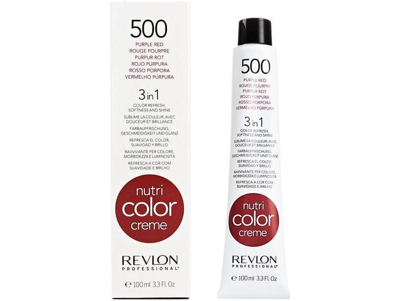 Revlon Nutri Color Creme 500 Purple Red 100ml