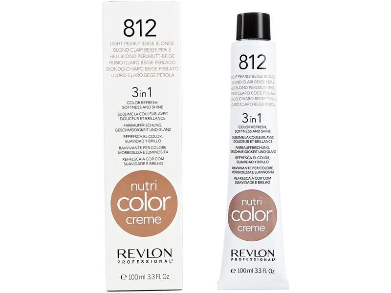 Revlon Nutri Color Creme 812 Light Pearly Beige 100ml