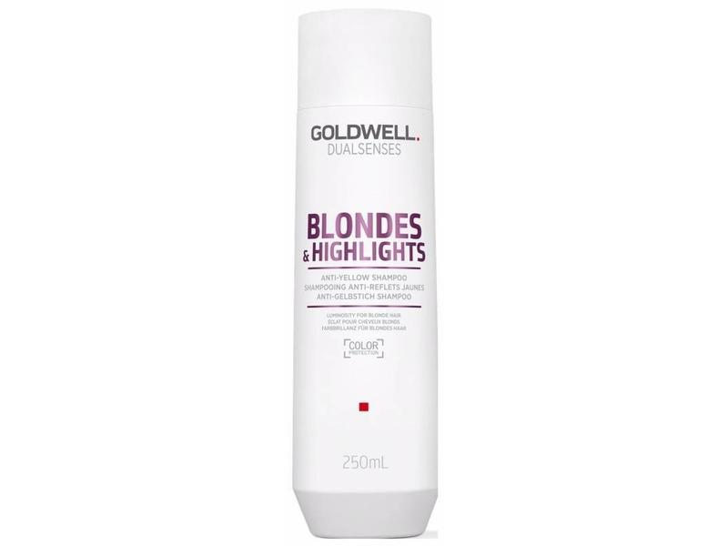 Goldwell Blondes & Highlights Anti Yellow Shampoo 250ml