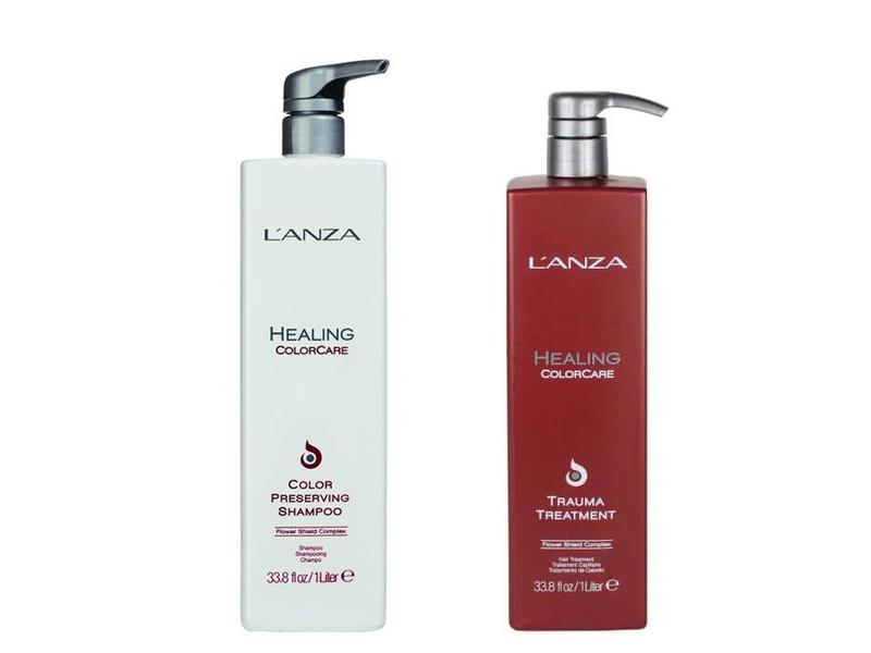 L'ANZA Healing Colorcare Trauma Treatment & Color Preserving Shampoo 1000ml