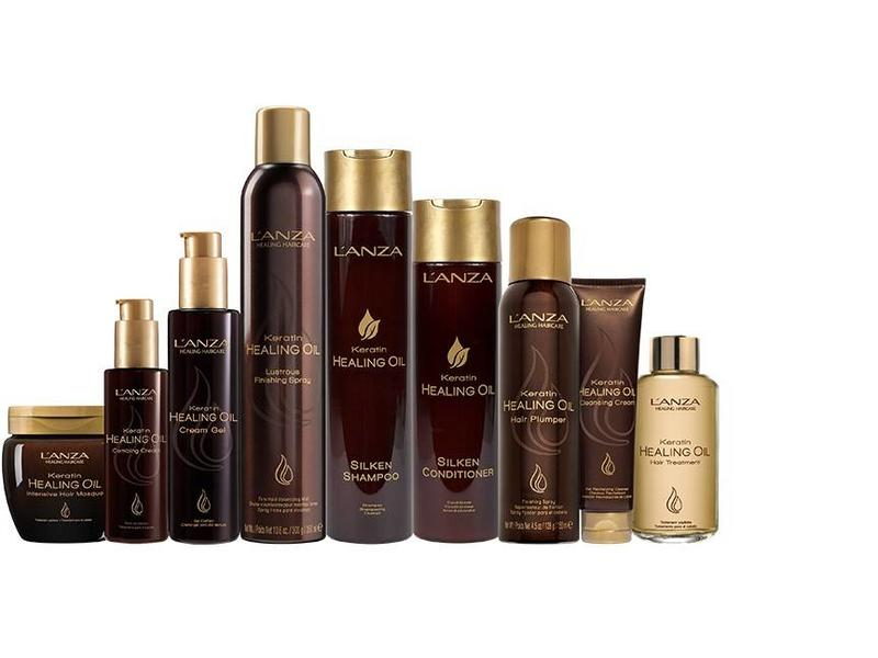 L'ANZA Keratin Healing Oil Bounce Up Spray 185ml