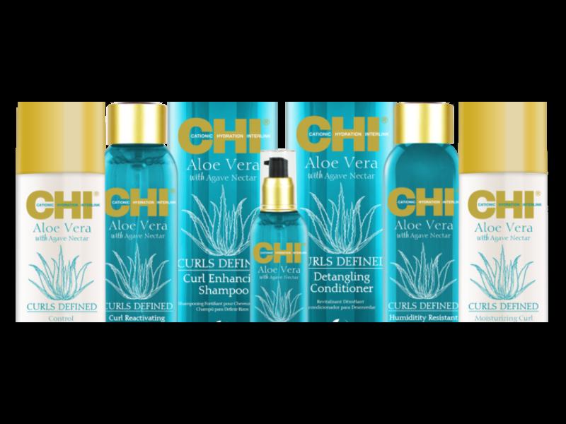Chi Aloë Vera Curls Defined Humidity Restitant Leave-in Conditioner 177ml