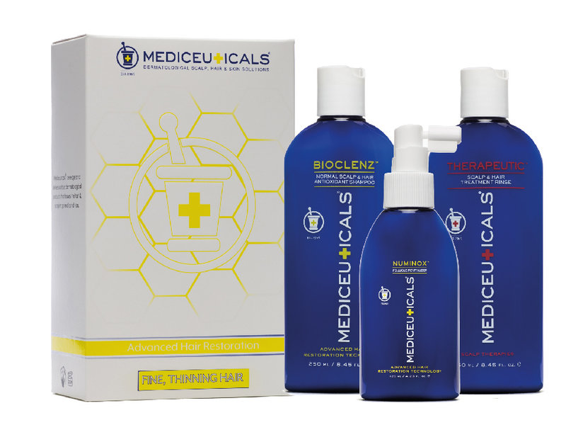 Mediceuticals Advanced Hair Restoration Kit for Fine, Thinning Hair
