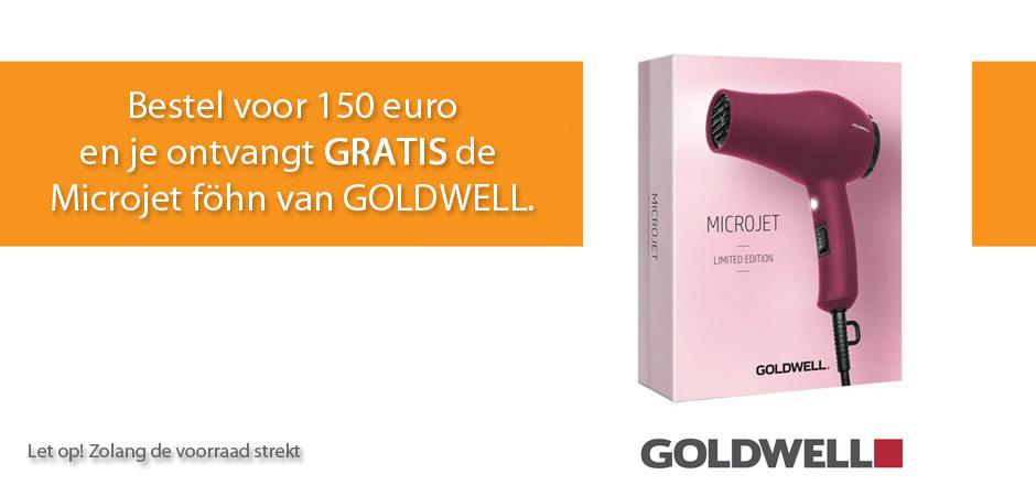 GRATIS GOLDWELL Föhn cadeau bij jouw bestelling!