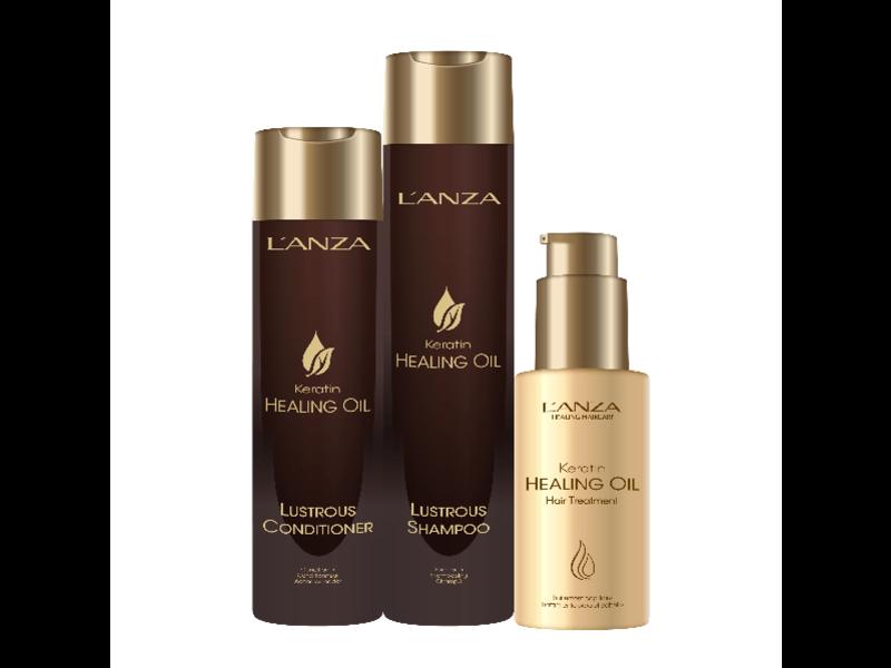 "L'ANZA Keratin Healing Oil Pakket ""A Time for Luxury"""