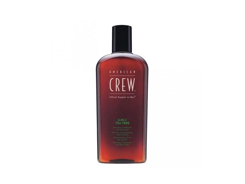 American Crew Tea Tree 3-in-1 Shampoo Conditioner Body Wash 450ml