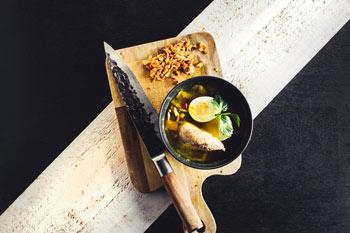 Ramen soep met kip en noedels 2