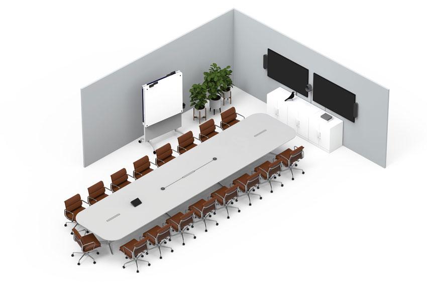 Boardroom indeling