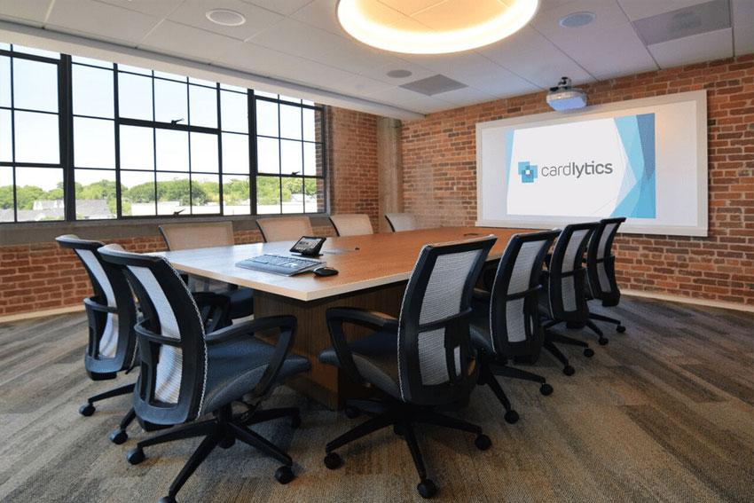 Grote videoconferencing ruimte
